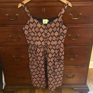 Mata Traders Block Print Dress w/ Pockets
